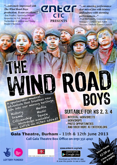 Wind-Road Boys Poster GALA2
