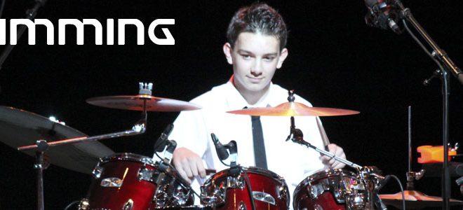 drummingbanner